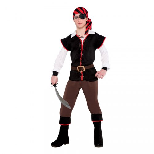 Déguisement Pirate Rebel Ado