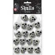 18 Mini Crânes Squelette (4,5 cm)