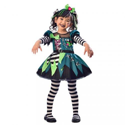 Déguisement Mini Miss Frankenstein