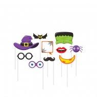 10 Photo Booth Halloween Fun