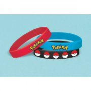 6 Bracelets Silicone Pokémon