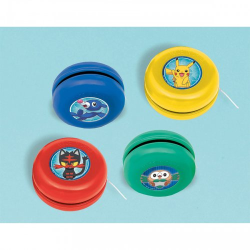 12 Yoyos Pokémon Mini (3,5 cm)