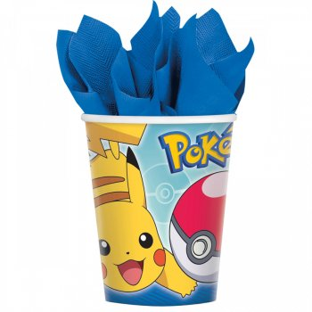 8 Gobelets Pokémon