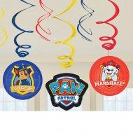 6 Guirlandes Spirales Pat Patrouille Friends