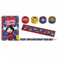 Set Cadeaux Papeterie Mickey (16 pièces)