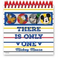 4 Bloc-Notes Mickey (12,5 cm)