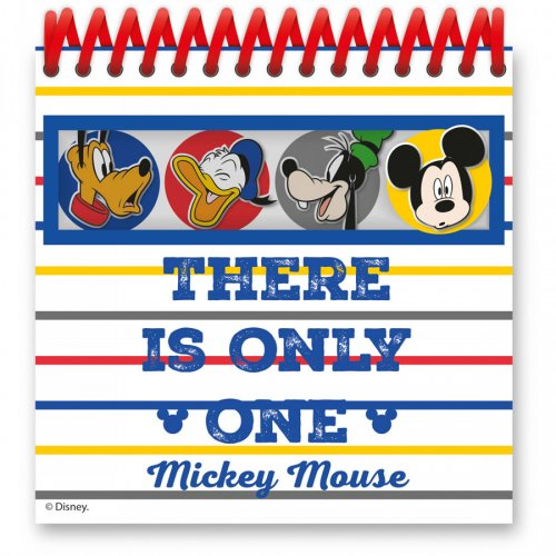 4 Bloc-Notes Mickey (12,5 cm)