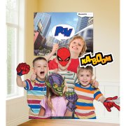 Set 11 Photo Booth Spiderman + Poster