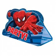 8 Invitations Spiderman