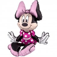 Ballon Minnie assise Maxi (48 cm) - Air