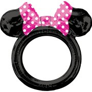 Ballon Cadre Photo Rond Minnie (73 cm) - Air