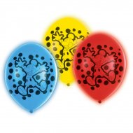 5 Ballons Lumineux Mickey (LED 24h)