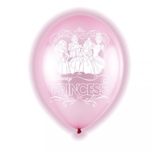 5 Ballons Lumineux Princesse Disney (LED 24h)