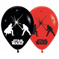 5 Ballons Lumineux Star Wars (LED 24h)
