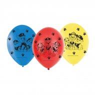 6 Petits Ballons Pat Patrouille Friends