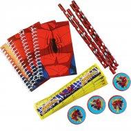 Set Cadeaux Papeterie Spiderman (16 pièces)