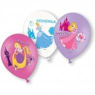 6 Ballons Princesses Disney (Raiponce/Cendrillon/Aurore)