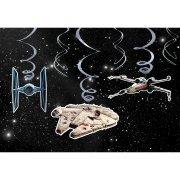 6 Guirlandes Spirales Star Wars