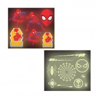 128 Stickers Spiderman Classic/Phosphorescent