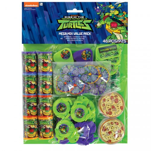 48 Jouets Tortue Ninja (6 cadeaux - 8 invités)