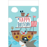 Contient : 1 x Nappe Pirate Birthday