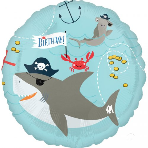 Ballon à plat Pirate Birthday
