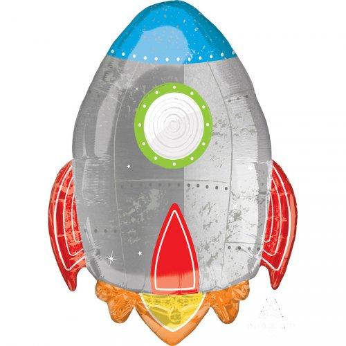 Ballon Géant Fusée (73 cm)