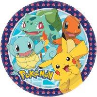 Contient : 1 x 8 Assiettes Pokémon Friends