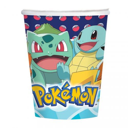 8 Gobelets Pokémon Friends