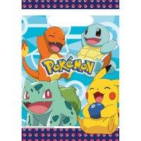 Contient : 1 x 8 Pochettes cadeaux Pokémon Friends