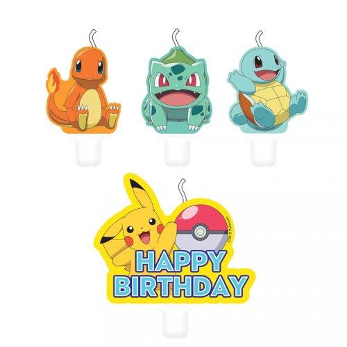 4 Bougies Pokémon Friends