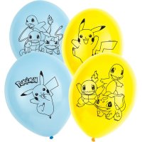 Contient : 1 x 6 Ballons Pokémon Friends