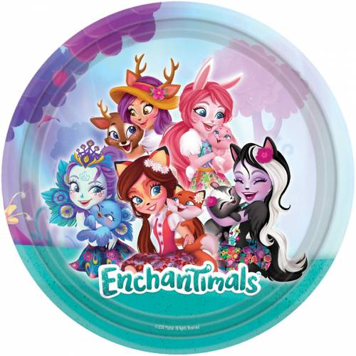8 Assiettes Enchantimals