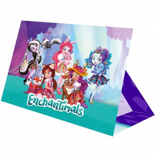 8 Invitations Enchantimals