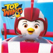 16 Serviettes Top Wing