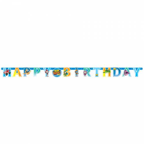 Guirlande Lettres Happy Birthday Top Wing