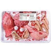 Barquette Organes Humains en plastique Halloween