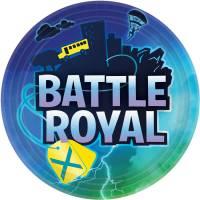 Contient : 1 x 8 Assiettes - Battle Royal