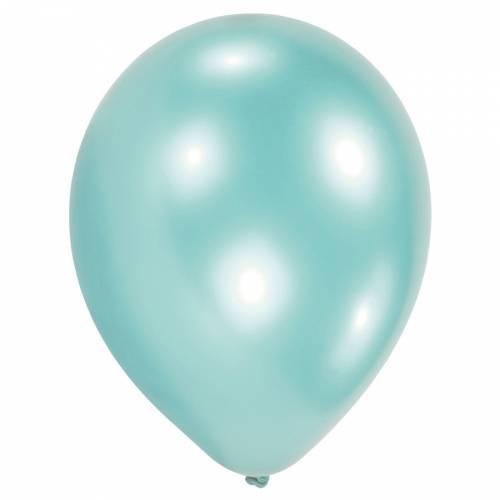 10 Ballons Latex - Turquoise Perle