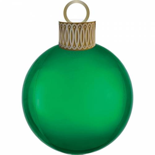 Ballon Orbz Boule de Noël Verte