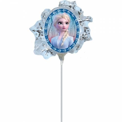 Ballon sur Tige La Reine des Neiges 2