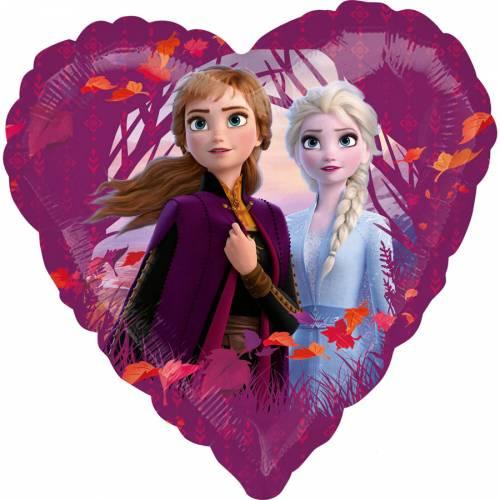 Ballon à Plat La Reine des Neiges 2 - Coeur