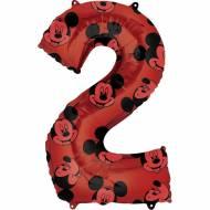Ballon Géant Mickey Chiffre 2