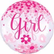 Ballon Géant Confetti Oh Baby Girl !
