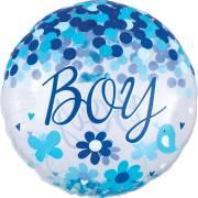 Ballon Géant Confetti Oh Baby Boy !