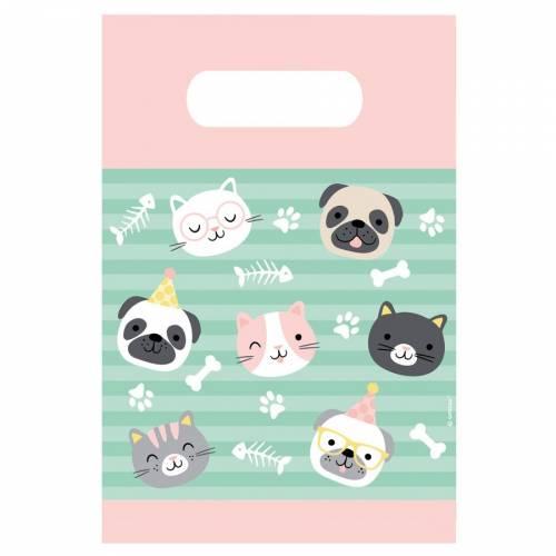 8 Pochette Cadeaux Hello Pets