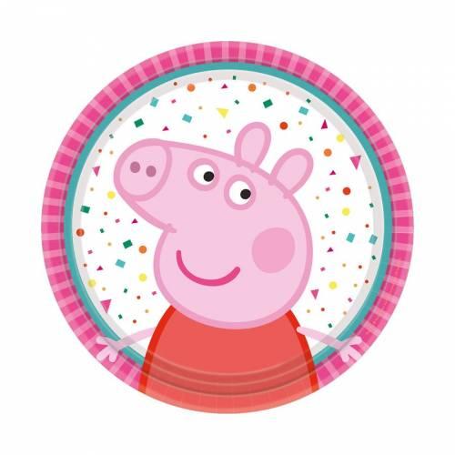 8 Petites Assiettes - Peppa Pig Party