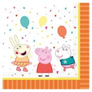 16 Serviettes - Peppa Pig Party