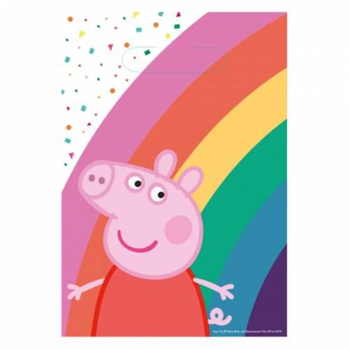 8 Pochettes Cadeaux - Peppa Pig Party