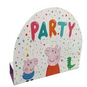 8 Invitations - Peppa Pig Party
